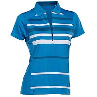 Women's Nancy Lopez Shock Short Sleeve Golf Polo