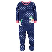 Baby Girl Carter's Unicorn Dotted Sleep & Play