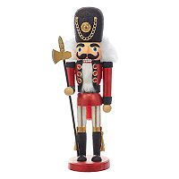 Kurt Adler Hollywood Nutcrackers Red Soldier Christmas Floor Decor