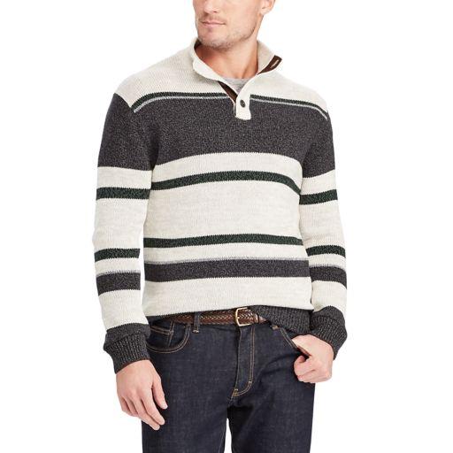 Big & Tall Chaps Classic-Fit Mockneck Sweater