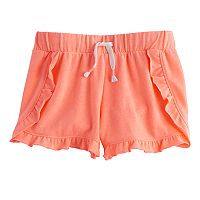 Girls 7-16 SO® Ruffled Shorts