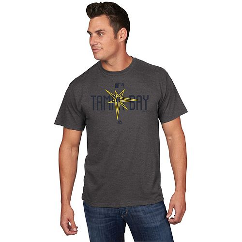 Men's Majestic Tampa Bay Rays Clubhouse Tee