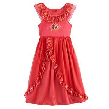 Disney's Elena of Avalor Girls 4-8 Fantasy Nightgown
