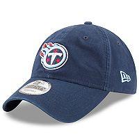 Adult New Era Tennessee Titans 9TWENTY Core Adjustable Cap