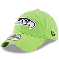 Adult New Era Seattle Seahawks 9TWENTY Core Adjustable Cap
