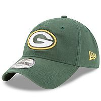 Adult New Era Green Bay Packers 9TWENTY Core Adjustable Cap