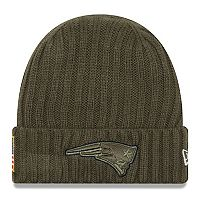 Adult New Era New England Patriots Salute to Service Beanie