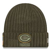 Adult New Era Green Bay Packers Salute to Service Beanie