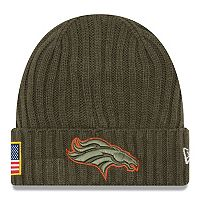 Adult New Era Denver Broncos Salute to Service Beanie