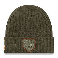Adult New Era Chicago Bears Salute to Service Beanie