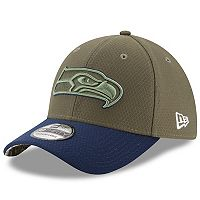 Adult New Era Seattle Seahawks 39THIRTY Salute to Service Flex-Fit Cap