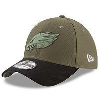 Adult New Era Philadelphia Eagles 39THIRTY Salute to Service Flex-Fit Cap