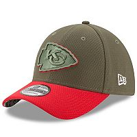 Adult New Era Kansas City Chiefs 39THIRTY Salute to Service Flex-Fit Cap