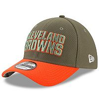 Adult New Era Cleveland Browns 39THIRTY Salute to Service Flex-Fit Cap