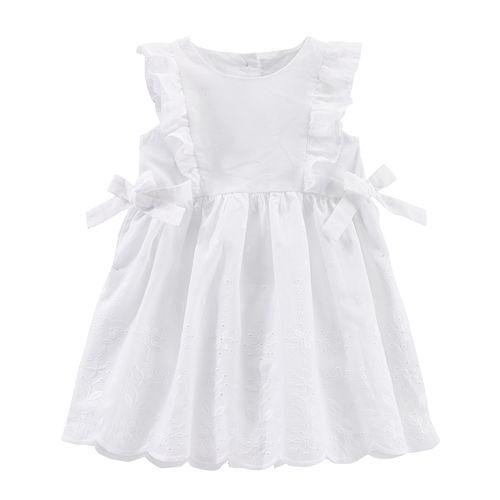 Baby Girl OshKosh B'gosh® Eyelet Woven Dress