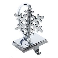 Kurt Adler Snowflake Christmas Stocking Holder
