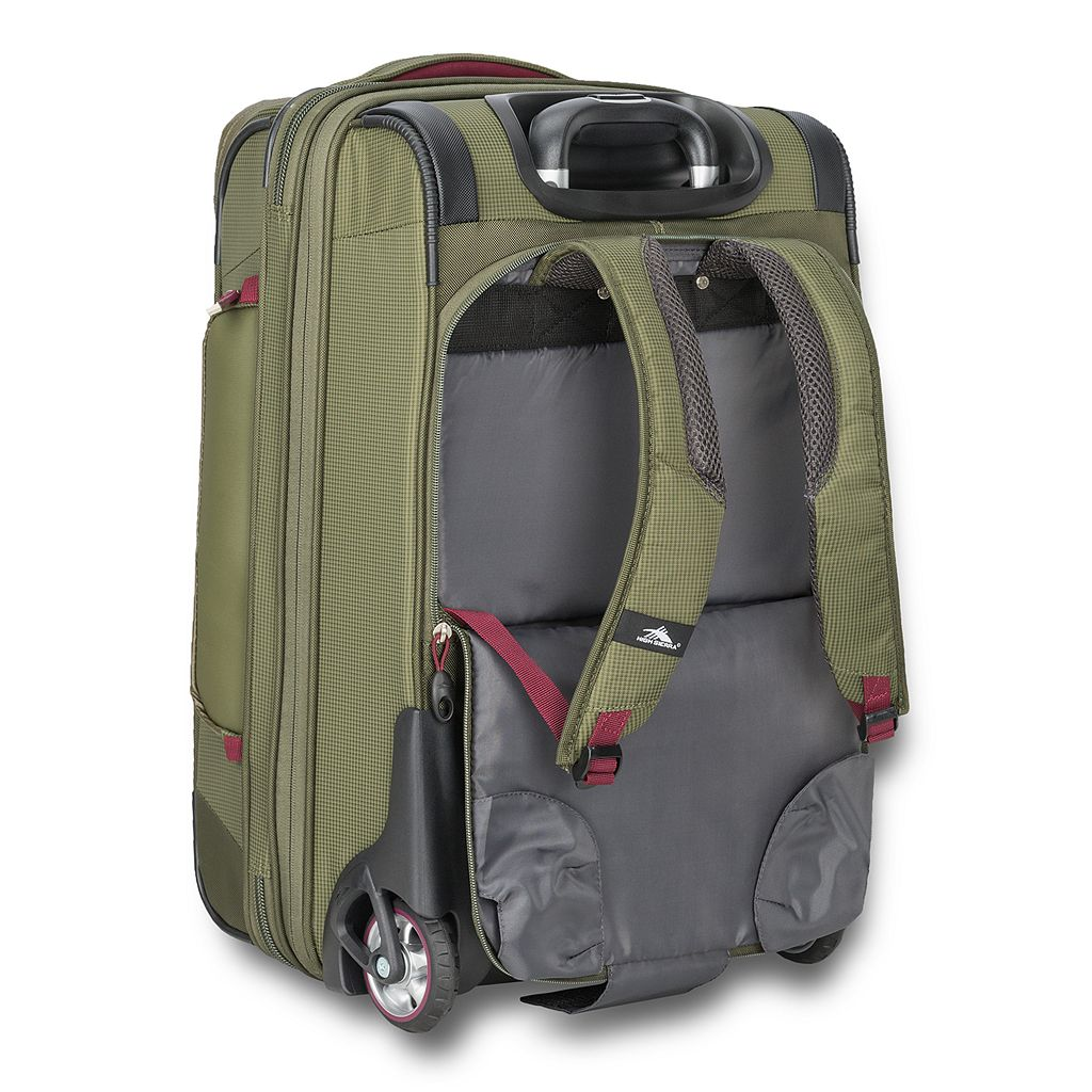 High Sierra AT8 Wheeled Duffel Upright Luggage