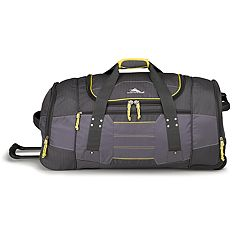 df5e884357 High Sierra Ultimate Access 2.0 Wheeled Duffel Bag