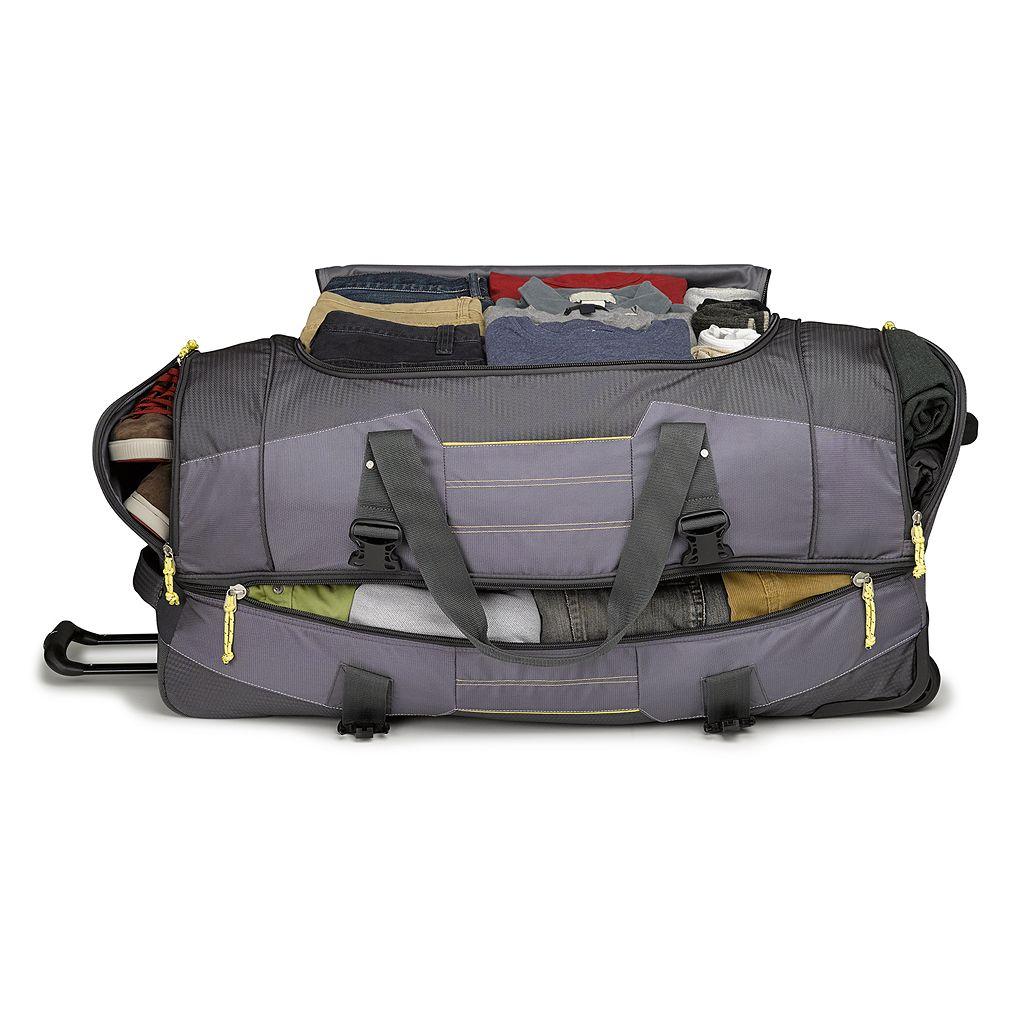 High Sierra Ultimate Access 2.0 36-Inch Wheeled Drop-Bottom Duffel Bag