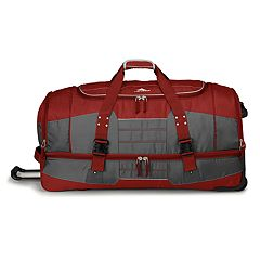 High Sierra Ultimate Access 2.0 36-Inch Wheeled Drop-Bottom Duffel Bag