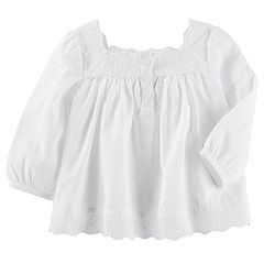 Baby Girl OshKosh B'gosh® Eyelet Woven Top