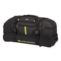 High Sierra Evolution 30-Inch Wheeled Drop-Bottom Duffel Bag