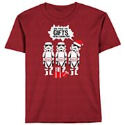 Boys 8-20 Star Wars Storm Troops Holiday Tee
