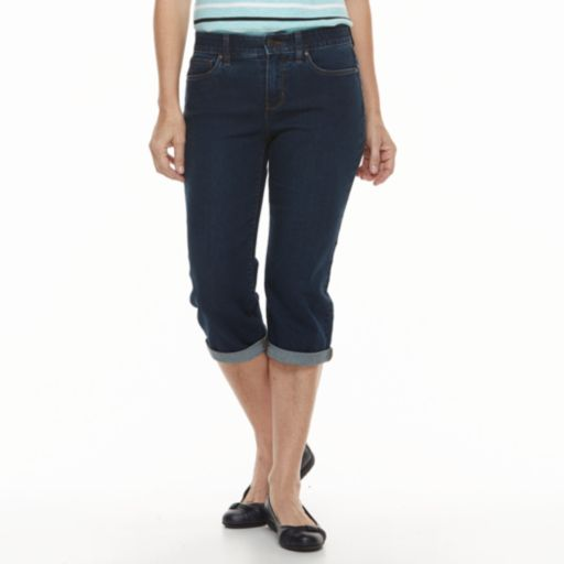 Women's Croft & Barrow® Capri Jeans