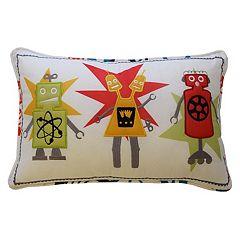 Waverly Kids Robotic Oblong Throw Pillow