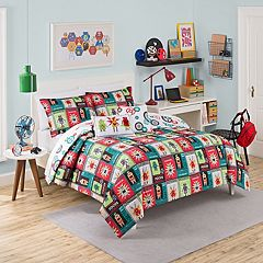 Waverly Kids Robotic Reversible Comforter Set