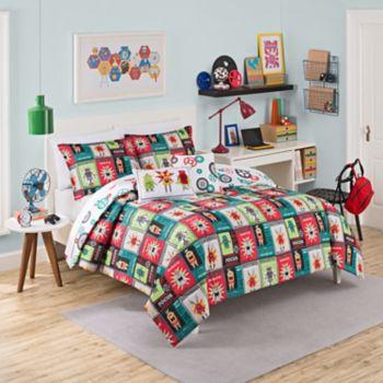 Waverly Kids Robotic Reversible Comforter Set