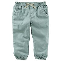 Baby Girl OshKosh B'gosh® Olive Pants