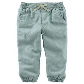 Baby Girl OshKosh B'gosh® Olive Pants