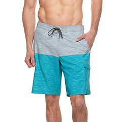 Big & Tall SONOMA Goods for Life™ Flexwear Colorblock Swim Trunks