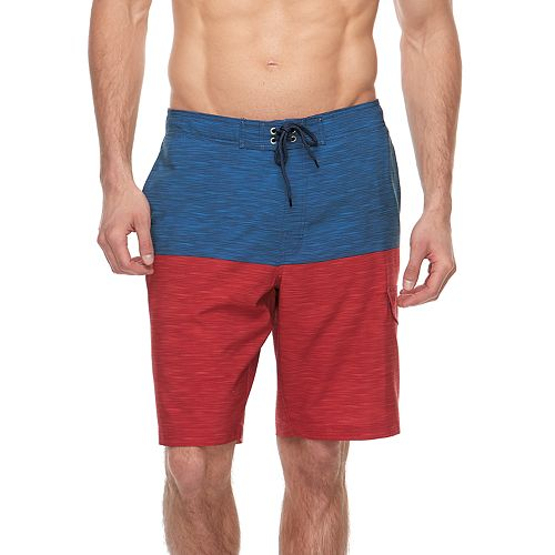 2e92be5ce0434 Big & Tall SONOMA Goods for Life™ Flexwear Colorblock Swim Trunks