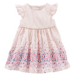 Baby Girl OshKosh B'gosh® Floral Border Dress