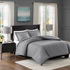Madison Park Essentials Clay Duvet Cover Set