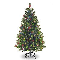 National Tree Company 4.5-ft. Pre-Lit North Valley Spruce Artificial Christmas Tree