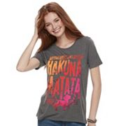 Disney's The Lion King Juniors' 'Hakuna Matata' Graphic Tee