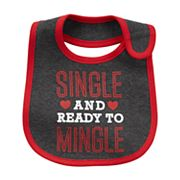 Baby Carter's 'Single and Ready to Mingle' Graphic Bib