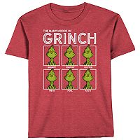 Boys 8-20 The Grinch Moods Tee