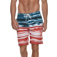 Men's SONOMA Goods for Life™ Patriotic Cargo Swim Trunks