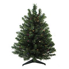 3-ft. Pre-Lit Pine Artificial Christmas Tree