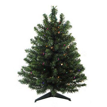 3-ft. Pre-Lit Pine Artificial Christmas Tree