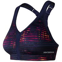 New Balance Bras: Printed Power High-Impact Sports Bra WB71040