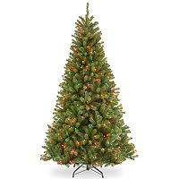 National Tree Company 9-ft. Pre-Lit North Valley Spruce Artificial Christmas Tree