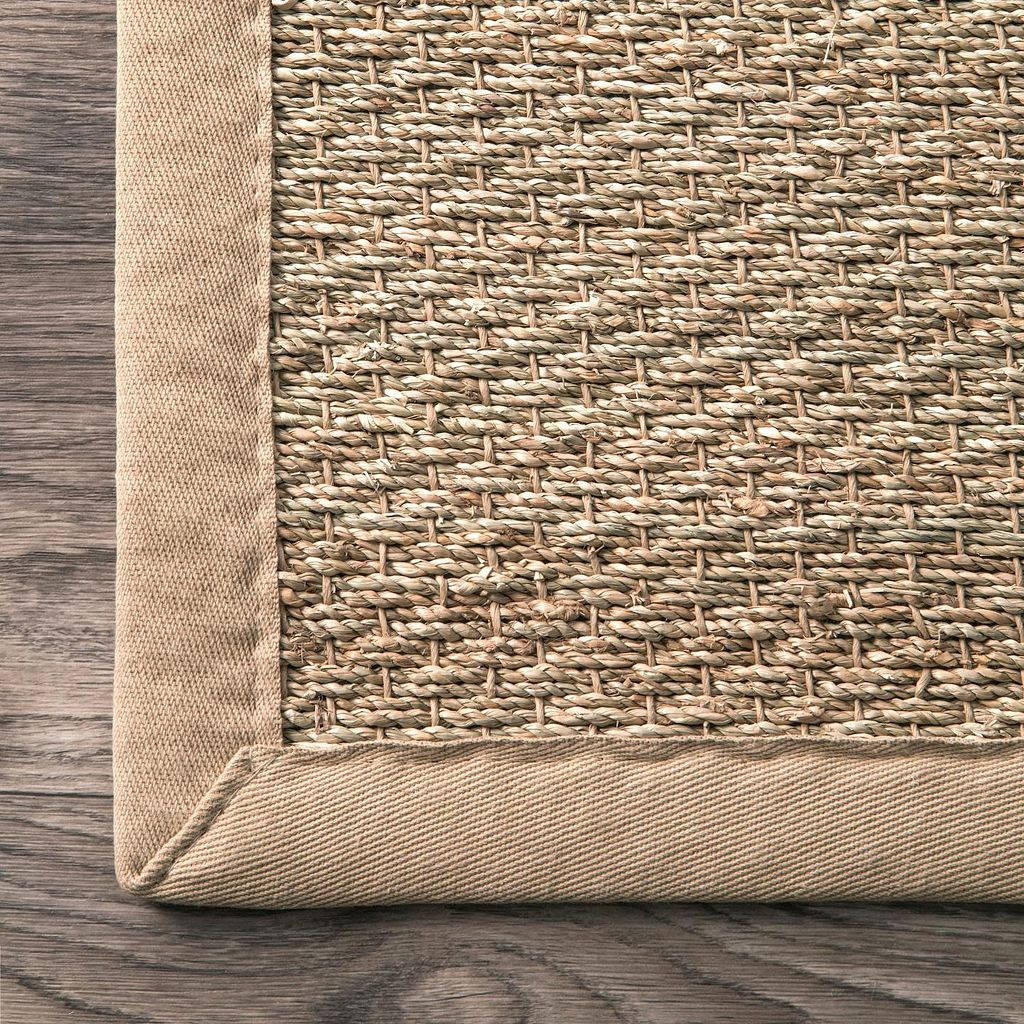 nuLOOM Elijah Seagrass Striped Rug