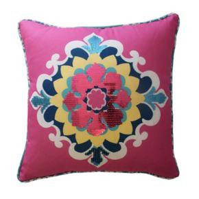 Waverly Kids Bollywood Medallion Throw Pillow