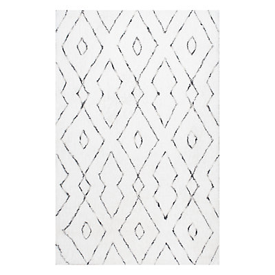 nuLOOM Beulah Geometric Shag Rug