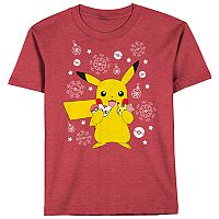 Boys 8-20 Pokemon Pikachu Cookies Tee